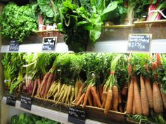 weird vegetables: The Vegetable Butcher of Eataly