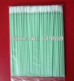 Long Handle Knitted polyester cleaning swab for cleaning surfaces and hard to reach areas