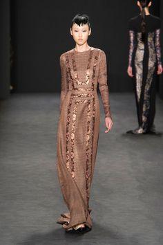 Carmen Marc Valvo at New York Fashion Week Fall 2014 - Runway Photos