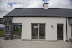 Aluminium Cladding - Aluclad Installation by Youghal Glass Consultancy & Frames specialising in AluClad, uPVC &Timber windows & doors, French Doors Timber Windows, House Windows, Windows And Doors, Bungalow Extensions, Aluminium Cladding, Traditional Windows, New Builds, French Doors, Exterior