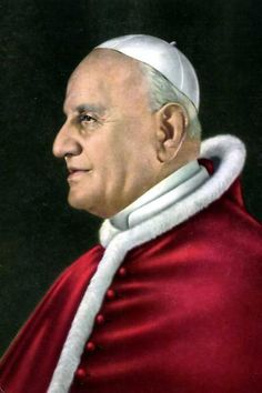 Postcards of the Past - Vintage Postcards of Popes - Pope John XXIII