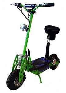 """Super Turbo Elite Electric Scooter """"Neon Green"""" (Now includes Econo/Turbo mode button!) The true Super Turbo Elite Scooter from Super Best Scooter For Kids, Kids Scooter, Honda Ruckus, Electric Scooter With Seat, Electric Cars, Electric Vehicle, Super Turbo, Scooter Bike, Bicycle"""
