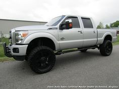 Used 2015 Ford F-250 Super Duty Platinum Diesel 6.7 Lifted 4X4 Crew Cab for sale in RICHMOND, VA | Davis Auto Sales Certified Master Dealer Richmond, Virginia