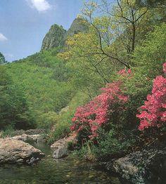 주왕산 - 주방계곡(Mt. Juwangsan, Korea)