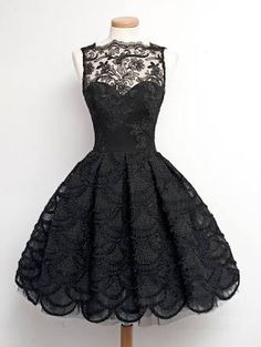 Black dresses are nice