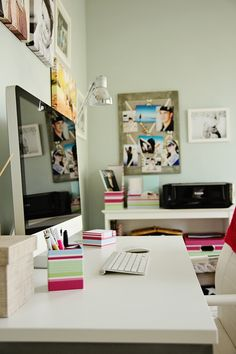 Love my new iMac and home office <3