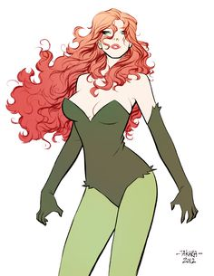 Marcio Takara Tumblr | Poison Ivy // artwork by Marcio Takara (2012)
