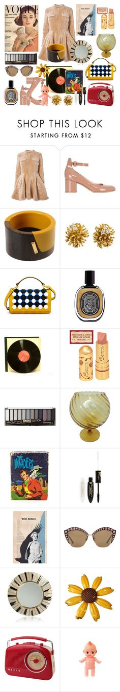 """""""Retro!"""" by tinakriss ❤ liked on Polyvore featuring J.W. Anderson, Gianvito Rossi, Marni, Henri Bendel, Diptyque, Rimmel, MCM, L'Oréal Paris, Gucci and R&Y Augousti"""