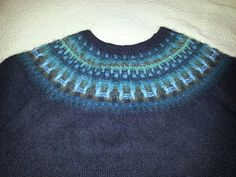 Ravelry: Candyaj67's The Ultimate Sweater - Bohus Forest Darkness