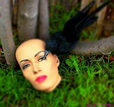 #MannequinArt #MannequinHead #HeadInTheGrass
