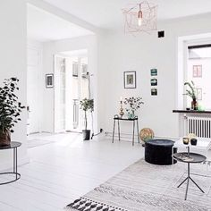 Living Room Decoration and Design Ideas - Ribbons & Stars Interior Exterior, Home Interior, Interior Architecture, Living Room Decor, Living Spaces, House Doctor, Home And Deco, Cheap Home Decor, Home And Living