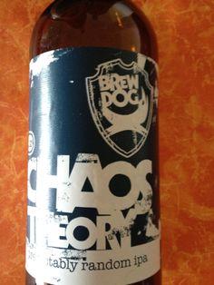 BrewDog Chaos Theory    Brewed by BrewDog Style: India Pale Ale (IPA) Ellon, Aberdeenshire, Scotland