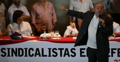 Lula manda sindicalistas cobrarem Moro por 'prejuízos' da Lava Jato
