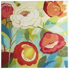 Vivid Floral II Art