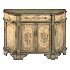 Dover Credenza. I have this in the front hall.  Home Goods $129