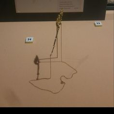 The Golden Grass necklace is currently on display in the Wellcome Collection as part of A Modern Exhibition of Nature.