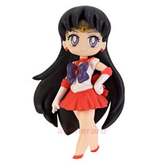 Sailor Moon For Girls MARS Figure Banpresto 20th Anniversary Atsumete Part 1 USA #Banpresto