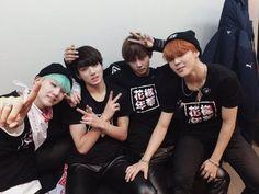 #Suga #JungKook #V #Jimin #BTS