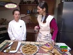 In cucina con Ester Mozzi: torta salata con verdure e pan soffice di quinoa - parte b - YouTube