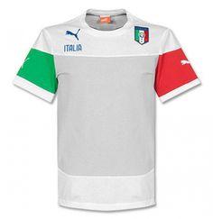 #T-shirt italia calcio 2014-15 puma  ad Euro 32.20 in #Sport calcio t shirt #Moda