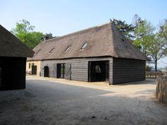 Achtergevel restauratie boerderij aan de aan de Heistraat te Ulvenhout. Landgoed Ulvenhart. Zie www.ulvenhart.nl