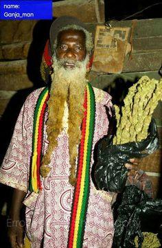 Ganja man. Medical Marijuana, Marijuana Funny, African Herbs, Rastafarian Culture, Weed Bong, Rasta Man, Buy Weed Online, Herbs, Smoke Weed