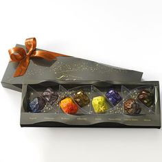 If you've ever wanted to munch on the solar system, here's your chance. Chocolatier L'éclat of the Righa Royal Hotel in Japan makes these stunning planetary and meteoritic chocolates that come in b...