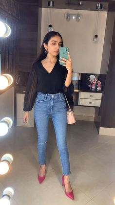 Casual Day Outfits, Teen Fashion Outfits, Chic Outfits, Summer Outfits, Smart Casual, Casual Chic, Fashion Videos, Indie Fashion, College Outfits