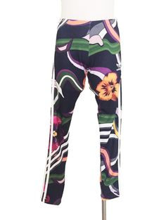Adidas Originals Farm Flower Multi-Color Leggings Sz. S #adidas