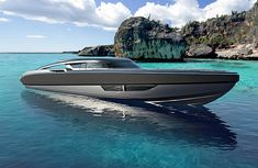 Federico Fiorentino unveils Super RIB Project for mega yachts — Yacht Charter & Superyacht News Yacht Design, Boat Design, Rigid Inflatable Boat, Float Your Boat, Yacht Boat, Yacht Club, Super Yachts, Water Crafts, Sailing