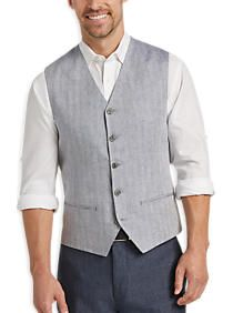 Joseph Abboud Light Denim Blue Modern Fit Vest