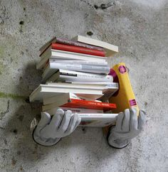 """""""can I get a hand with all these books?"""" #books #reading #shelf"""