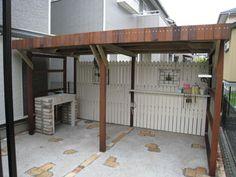 自転車置き場&アウトドア空間: Garden Heart の施工例!