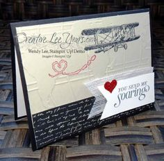 Sky is the limit by Wendy Lee, #creativeleeyours, Stampin' Up!, SAB, Masculine valentine card- SU - Sale-a-bration - SAB