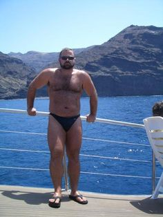 Hot 'n' Thick Speedo Bear