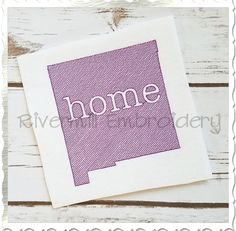 $2.95Sketch Style New Mexico Home Machine Embroidery Design