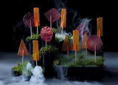 Creative treats ... carrot (or beetroot or tomato) lollies. Photographs Heston Blumental at Home, by Heston Blumenthal, published by Bloomsb...