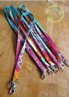 Tutorial: Easy patchwork lanyards · Sewing | CraftGossip.com