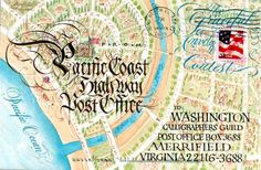 Yukimi Annand | 2005 Graceful Envelope contest -- http://www.calligraphersguild.org/Graceful/2005Group1/pages/Annand_jpg.htm