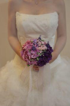 Private Bride Mor Gelin Çiçeği PB07-21