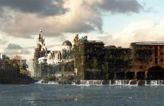 Albert Docks, Liverpool. | 16 Eerie Visions Of Post-Apocalyptic Britain