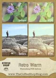 Retro warm - Free CoffeeShop Actions