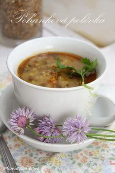 Pohanková polévka Czech Recipes, Ethnic Recipes, Croissants, Chana Masala, Quinoa, Cheeseburger Chowder, Stew, Crockpot, Clean Eating