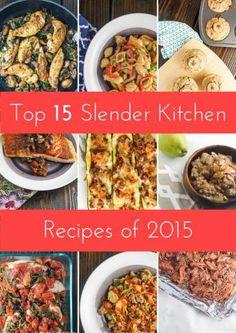 Top Fifteen Most Popular Slender Kitchen Recipes of 2015