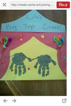 Carnivals Theme Crafts, Circus Crafts Preschool, Circus Theme, Circus ...