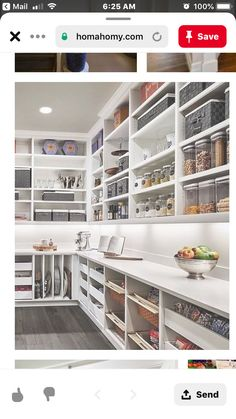 Basic and fast methods for better organization of the kitchen Basic and Quick Methods to Better Kitchen Organization – Ways Organize Your Kitchen Pantry For Optimum Storage Performance. - Own Kitchen Pantry Pantry Organisation, Kitchen Drawer Organization, Pantry Storage, Kitchen Storage, Home Organization, Kitchen Drawers, Storage Cabinets, Organized Pantry, Pantry Ideas