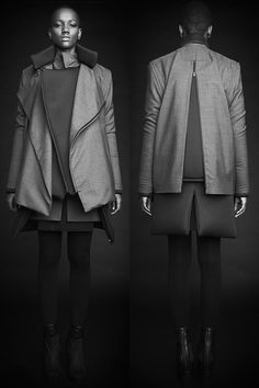 Rad Hourani  Unisex Transformable Collection