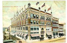 Quackenbush Department Store Patterson Nj 1878 1991 Paterson National Parks Department Store