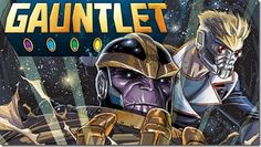 At this stage it isn't a question if there'll be a daily new Marvel morning 'Summer 2015′ teaser harkening back to a classic event or storyline, but what it'll be. Tuesday morning Comicbook.com has the latest – the Infinity Gauntlet – Jim Starlin and Ron Lim's Thanos-centric 1991 limited series. The Infinity Gauntlet inspired several