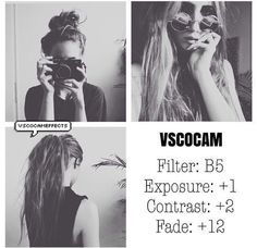 Follow me! @nishalajade . VSCO Cam Filter Settings for Instagram Photos | Filter B5